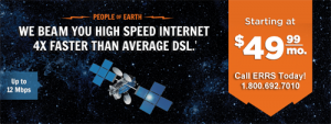 Exede internet - We beam you high speed internet 4x faster than average DSL - Starting at $49.99 per month